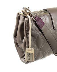 Pinko   Gray Handbag   Lyst