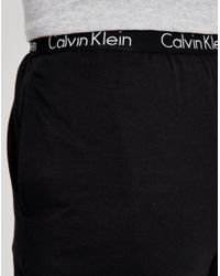 Calvin Klein - Utility Pant Cuffed Black for Men - Lyst