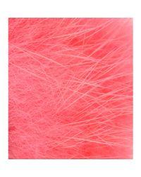 Fendi - Pink Crystal-Embellished Mink Fur Ring - Lyst