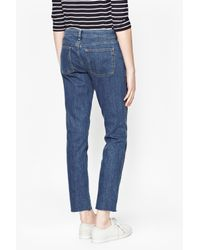 French Connection - Blue Comfort Stretch Slim Fit Jeans - Lyst