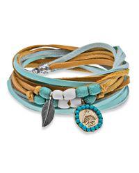 Platadepalo | Multicolor American Indian Bracelet Blue & Yellow | Lyst