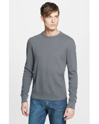 Rag & Bone | Gray Standard Issue Long Sleeve Thermal T-shirt for Men | Lyst