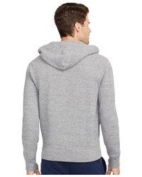 Polo Ralph Lauren   Gray French-rib Full-zip Hoodie for Men   Lyst