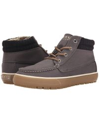 Sperry Top-Sider | Gray Bahama Lug Chukka Duck Cloth for Men | Lyst