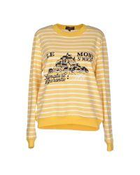 Le Mont St Michel   Yellow Sweatshirt   Lyst