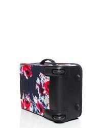 kate spade new york - Blue Classic Nylon Hazy Floral International Carry-on - Lyst