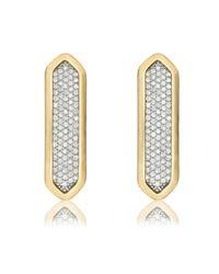 Monica Vinader - Metallic Baja Long Stud Earrings - Lyst