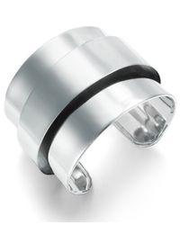 ABS By Allen Schwartz | Metallic Metal Cuff Bracelet | Lyst