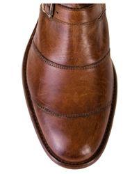 Belstaff | Brown Trialmaster Biker Boots | Lyst