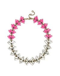 BaubleBar | Pink 'botanica' Crystal Collar Necklace | Lyst