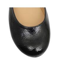 Nine West | Black Facinate Flat Slip On Ballerina Pumps | Lyst