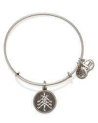 ALEX AND ANI - Metallic Seven Swords Ii Expandable Wire Bangle - Lyst