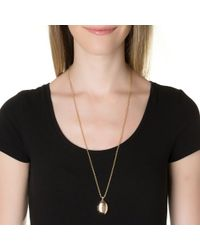 Emily & Ashley | Metallic Solid Locket | Lyst