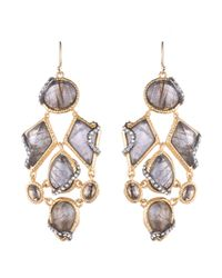 Alexis Bittar | Metallic Multi Stone Dangling Earring You Might Also Like | Lyst