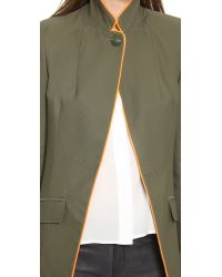 Laveer - Green Cholo Jacket - Army - Lyst