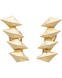 Ana Khouri | Metallic Women's Libertines Earrings | Lyst