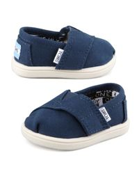 TOMS - Blue Classic Canvas Slip-on - Lyst