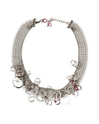 Dior | Metallic Necklace | Lyst