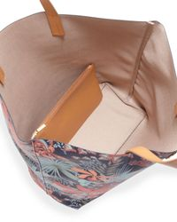 Tory Burch - Multicolor Kerrington Floral-Print Tote Bag - Lyst