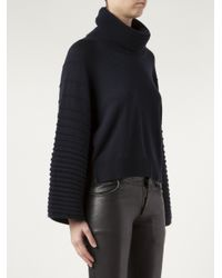 Maiyet - Blue Cashmere Ottoman Sweater - Lyst
