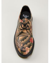 Dr. Martens | Natural Printed Lace-Up Shoes for Men | Lyst