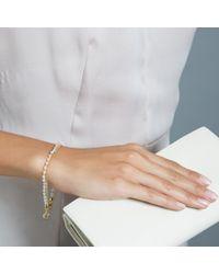 Astley Clarke   Pink Heart Rose Quartz Friendship Bracelet   Lyst