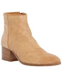Dune | Brown Black Piah Reptile Ankle Boots | Lyst