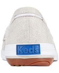 Keds - Metallic Women's Glimmer Boat Shoes - Lyst