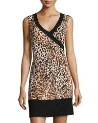 Cosabella - Multicolor Sapna Sleeveless Dress Nightgown - Lyst