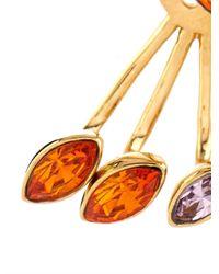 Ca&Lou - Orange Evelyn Lobe-Cuff Earrings - Lyst