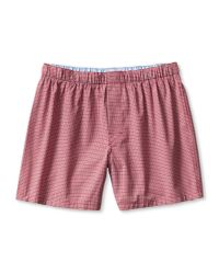 Banana Republic | Checkered Boxer for Men | Lyst