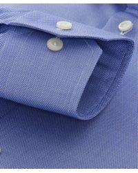 Eton of Sweden - Blue Contemporary Fit Textured Shirt for Men - Lyst