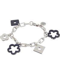 Marc By Marc Jacobs - Metallic Daisy Chain Bracelet, Women's, Matte Black Multi - Lyst