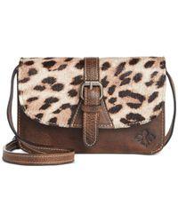Patricia Nash | Brown Leopard Torri Crossbody | Lyst