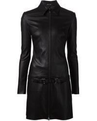 Jitrois - Black 'agatha' Zip Dress - Lyst