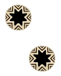 House of Harlow 1960 | Black Starburst Studs | Lyst