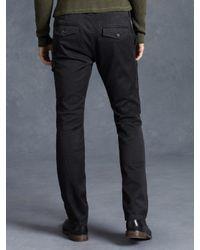 John Varvatos - Gray Cotton Cargo Pant for Men - Lyst