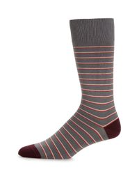 Paul Smith | Purple Striped Socks for Men | Lyst