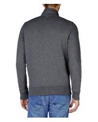 Napapijri | Gray Full Zip Fleeces for Men | Lyst