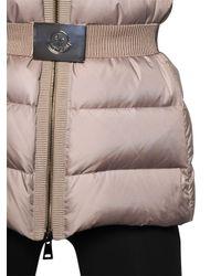 Moncler - Natural Fabrette Nylon & Micro Lux Down Jacket - Lyst