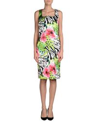 Vernissage Jewellery - White Knee-length Dress - Lyst