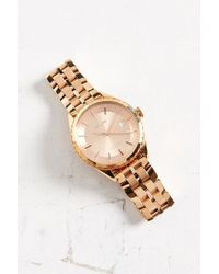Nixon | Pink Minx Rose Gold Watch for Men | Lyst