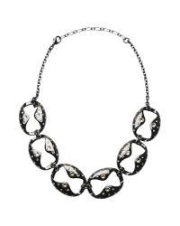 Ca&Lou - Black Necklace - Lyst