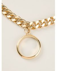 Chloé - Metallic 'Carly' Necklace - Lyst