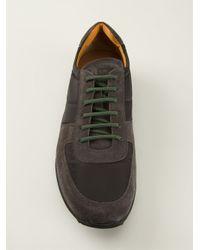 Car Shoe - Black Laceup Sneakers for Men - Lyst