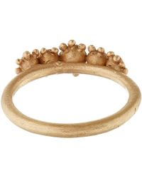 Ruth Tomlinson - Brown Diamond Cluster Ring - Lyst