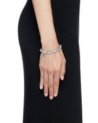 Philippe Audibert | Metallic 'jeanne' Crystal Elastic Bracelet | Lyst