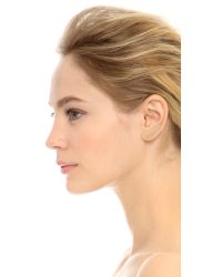EF Collection | Metallic Floating Stone Curved Bar Left Ear Crawler | Lyst