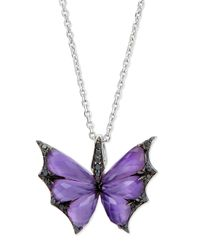 Stephen Webster | Metallic Fly By Night Amethyst Bat-moth Pendant Necklace | Lyst