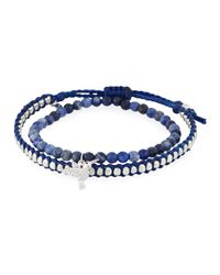 Tai | Blue Set Of Two Bracelets | Lyst